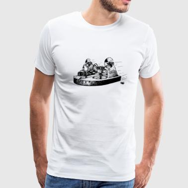 Tiny Whoop TINY WHOOV - DRAWING - Men's Premium T-Shirt