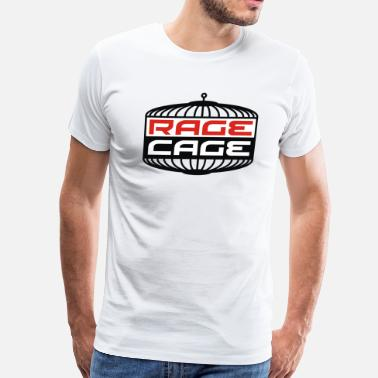 Rage In The Cage cage_rage - Men's Premium T-Shirt