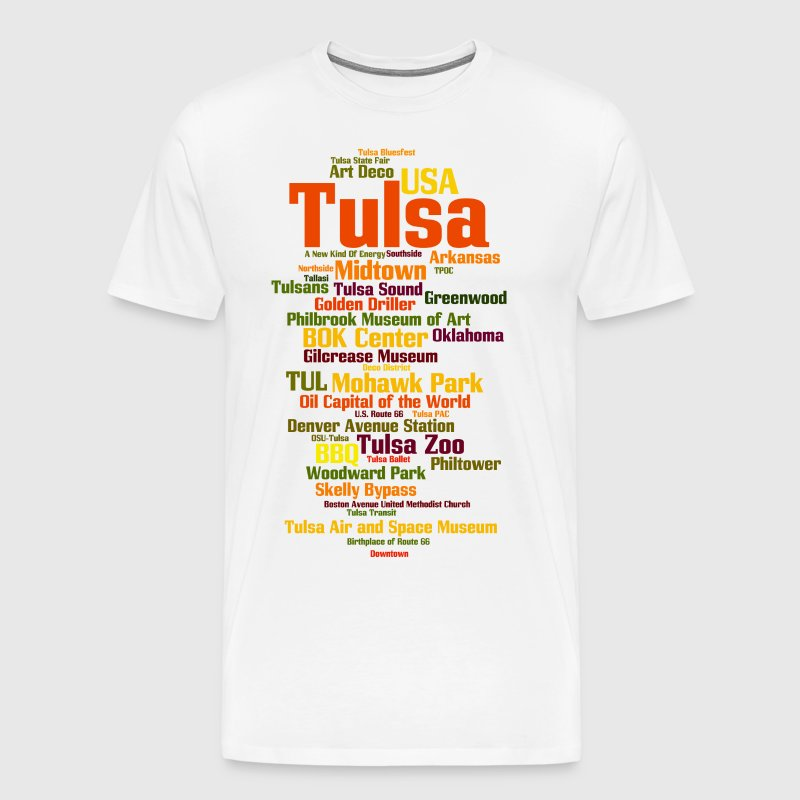 Tulsa (Oklahoma, USA, Oil Capital) - Men's Premium T-Shirt