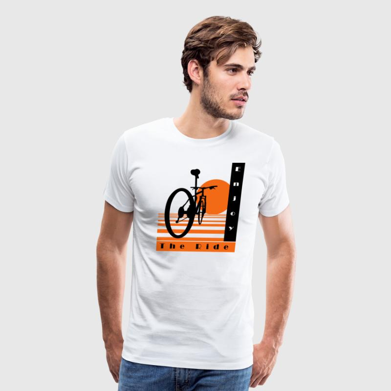 Bicycle Cool Ride T-Shirt - Men's Premium T-Shirt