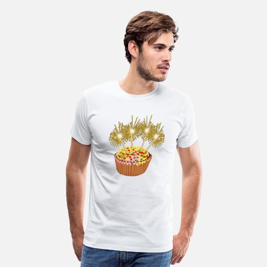 B Day T-Shirts - Celebrate - Men's Premium T-Shirt white