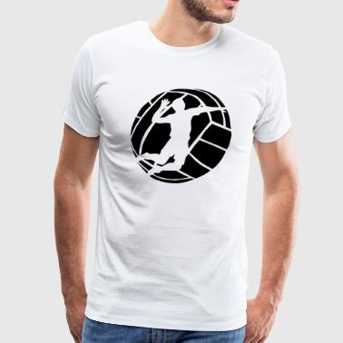 Volleyball Spiker - Men's Premium T-Shirt