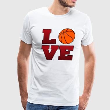 Love Chicago Bulls Basketball  - Men's Premium T-Shirt