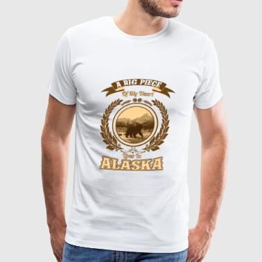 Alaska – A big piece of my heart - Men's Premium T-Shirt