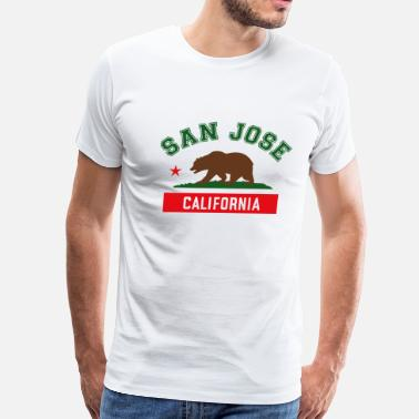 Jose california_san jose - Men's Premium T-Shirt