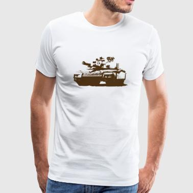 Tank - Military - War - Men's Premium T-Shirt
