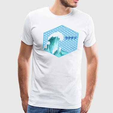 Lactide Wave - Men's Premium T-Shirt