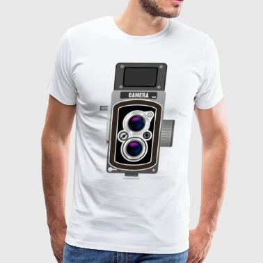 old camera - Men's Premium T-Shirt