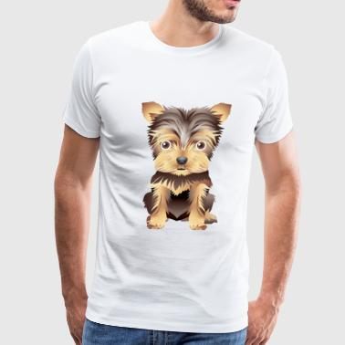 dog 4 - Men's Premium T-Shirt