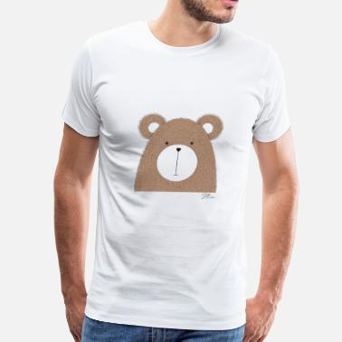 Cute Bear Cute Bear - Men's Premium T-Shirt