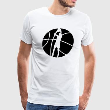 Basketball Shooter - Men's Premium T-Shirt