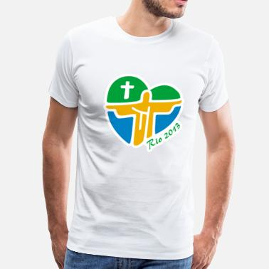 Wyd World Youth Day - Men's Premium T-Shirt