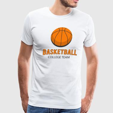 basketball Team T-shirt - Men's Premium T-Shirt