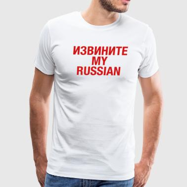 Russian Vodka RUSSIAN - Men's Premium T-Shirt