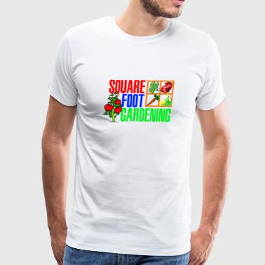 Square Foot Gardening - Men's Premium T-Shirt