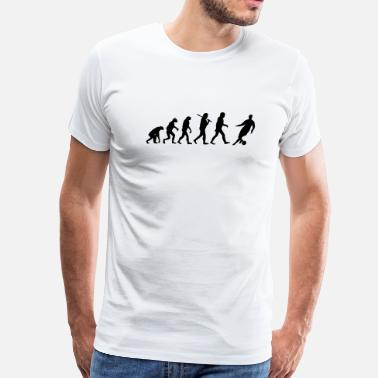 Soccer Evolution Evolution of Soccer - Men's Premium T-Shirt