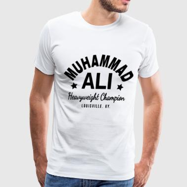 Ali Muhammad Ali Cassius Clay Boxing Gym Workout - Men's Premium T-Shirt