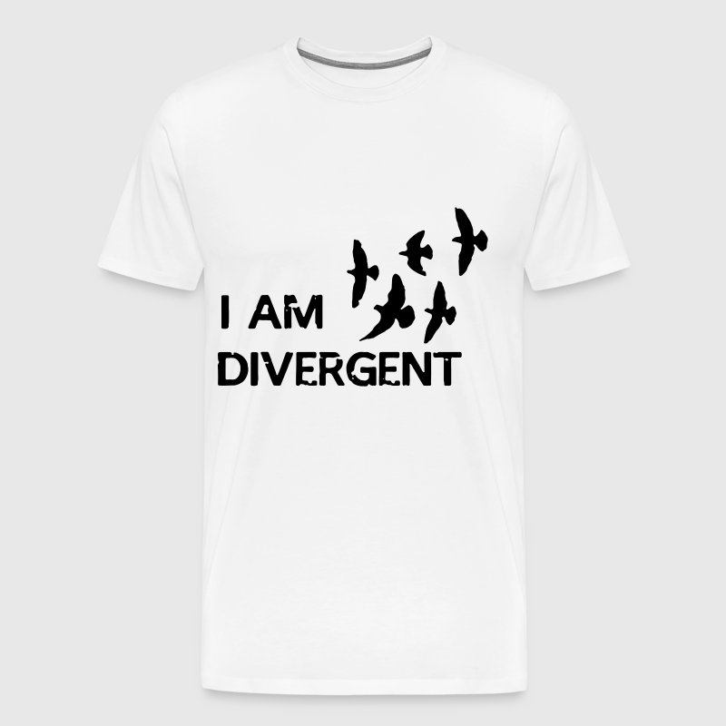 I am Divergent - Men's Premium T-Shirt