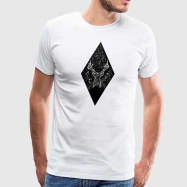 Space Deer - Men's Premium T-Shirt