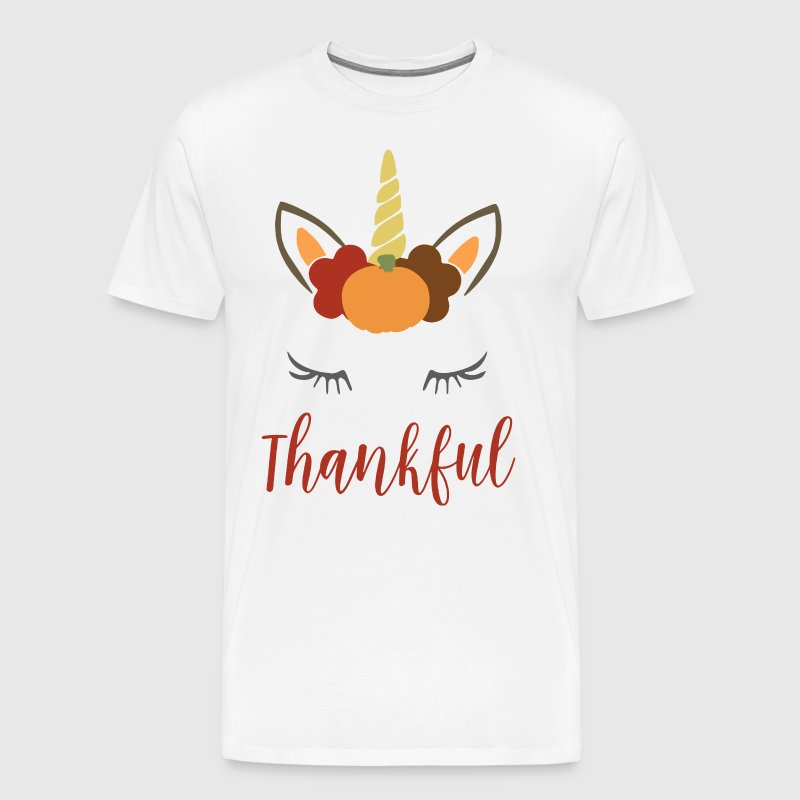 Thanksgiving Unicorn - Men's Premium T-Shirt