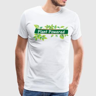 Plant Powered - Men's Premium T-Shirt
