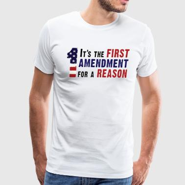 1st Amendment - Men's Premium T-Shirt