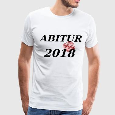 Abitur 2018 - Men's Premium T-Shirt