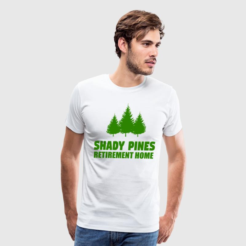 Shady Pines Retirement Home - Golden Girls - Men's Premium T-Shirt