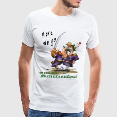 German Schützenfest 02 - Men's Premium T-Shirt
