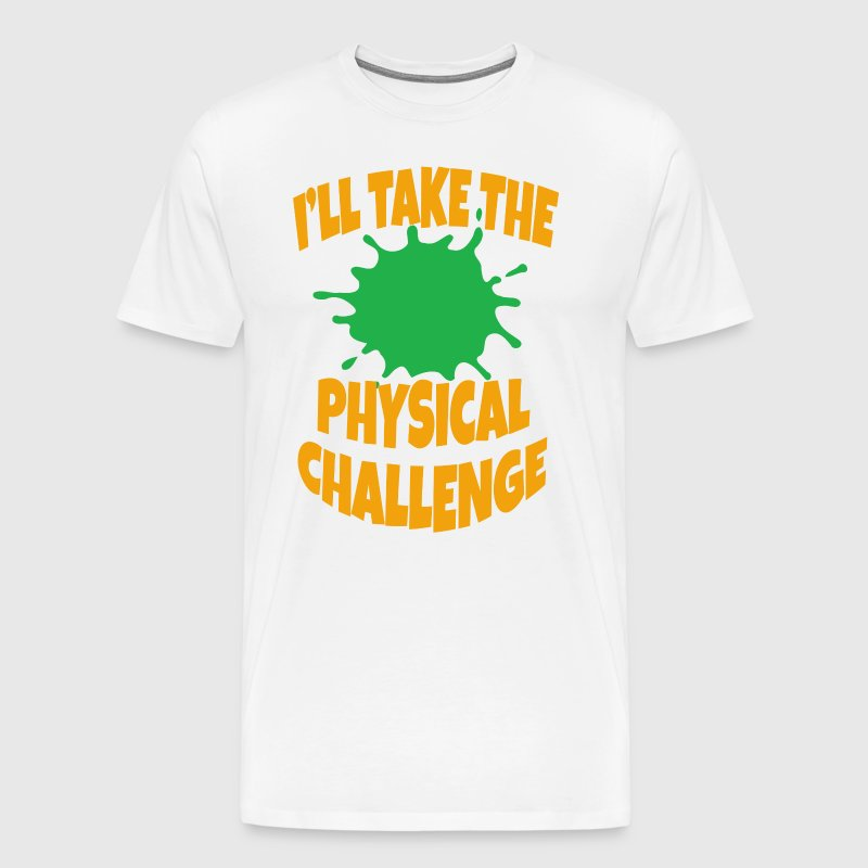 Double Dare - Nickelodeon - Physical Challenge - Men's Premium T-Shirt
