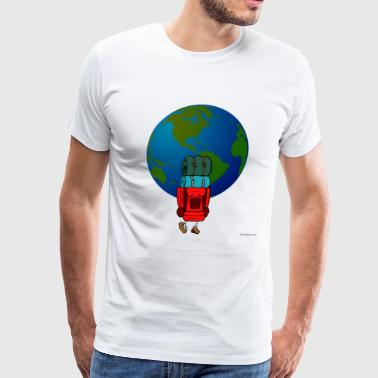 Backpacker - Men's Premium T-Shirt