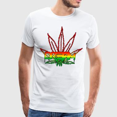 Dream Rasta Weed Leaf - Men's Premium T-Shirt