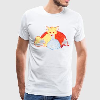 Sonic Tails Fast Friends - Men's Premium T-Shirt