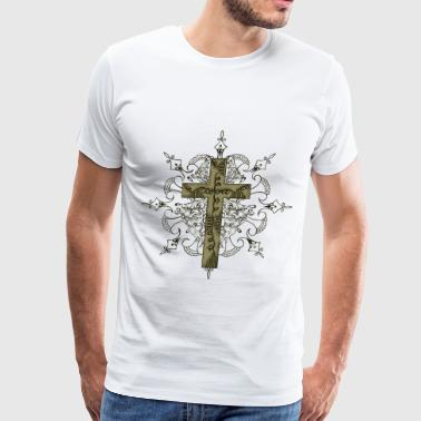 Cross design - Men's Premium T-Shirt