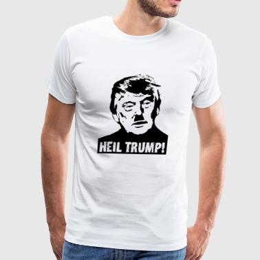 Donald trump - Heil Trump! - Men's Premium T-Shirt