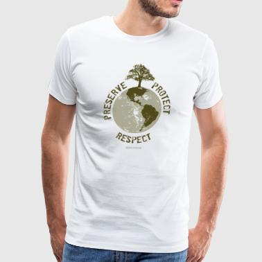 Preserve Respect Protect - Men's Premium T-Shirt