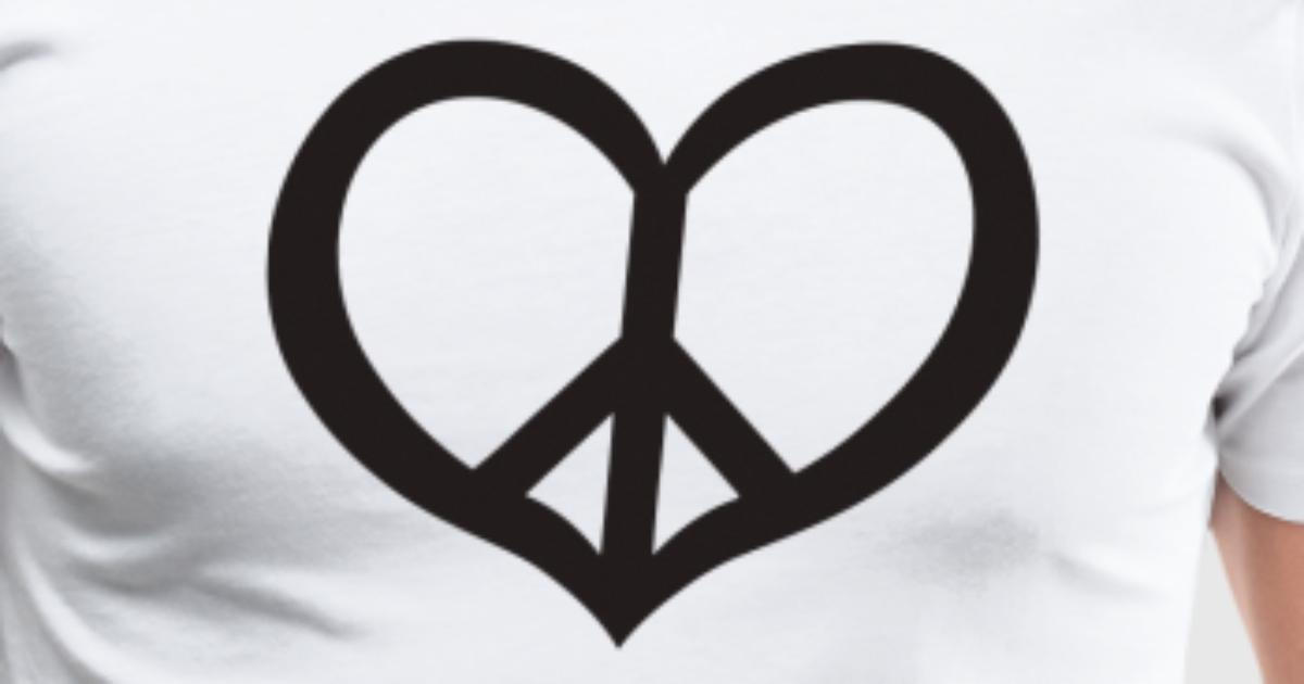 Peace Love By Bobbyg Spreadshirt
