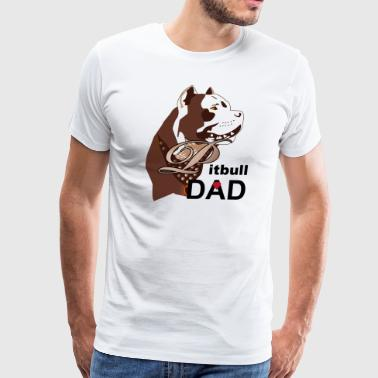 Pitbull  Dad - Men's Premium T-Shirt