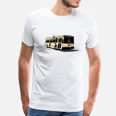 Sf Muni 1 California Muni Bus - Men's Premium T-Shirt