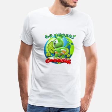 Gummibär Gummibär Go Green Earth Day Earth - Men's Premium T-Shirt