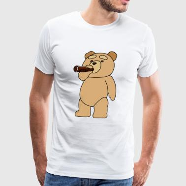 Drinking Ted - Men's Premium T-Shirt