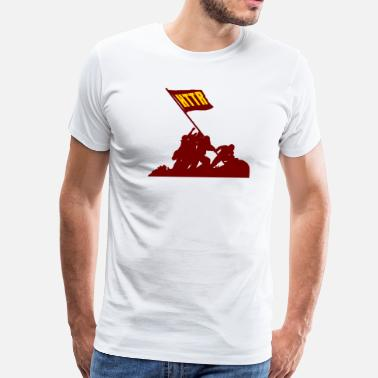 Redskins HTTR - Men's Premium T-Shirt