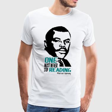 Marcus Garvey - Men's Premium T-Shirt