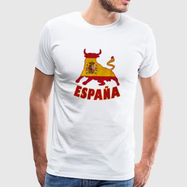 Spain Taurus - Men's Premium T-Shirt