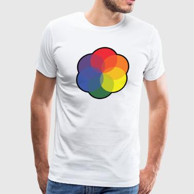 Color Wheel - Men's Premium T-Shirt
