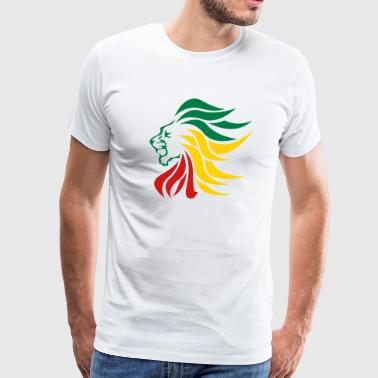 urban_lion_rastafari - Men's Premium T-Shirt