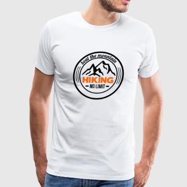 hiking - Men's Premium T-Shirt