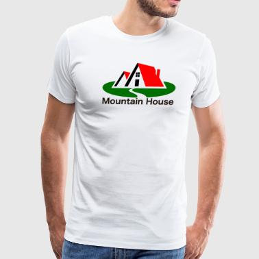 Mountain house , California - Men's Premium T-Shirt