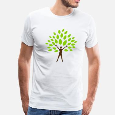 Human Nature Tree Man - Men's Premium T-Shirt