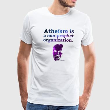 Organization Atheism is a... - George Carlin - Men's Premium T-Shirt